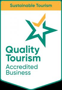 Sustainable Tourism Accreditation badge